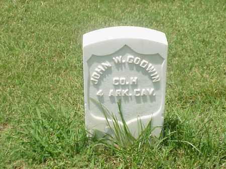 GODWIN (VETERAN UNION), JOHN W - Pulaski County, Arkansas | JOHN W GODWIN (VETERAN UNION) - Arkansas Gravestone Photos