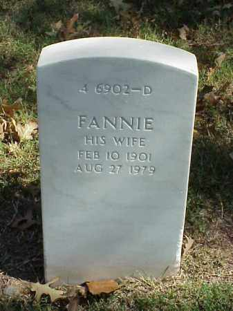 GOFORTH, FANNIE - Pulaski County, Arkansas | FANNIE GOFORTH - Arkansas Gravestone Photos