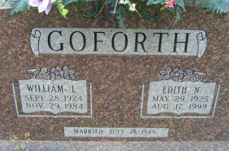GOFORTH, EDITH N. - Pulaski County, Arkansas | EDITH N. GOFORTH - Arkansas Gravestone Photos