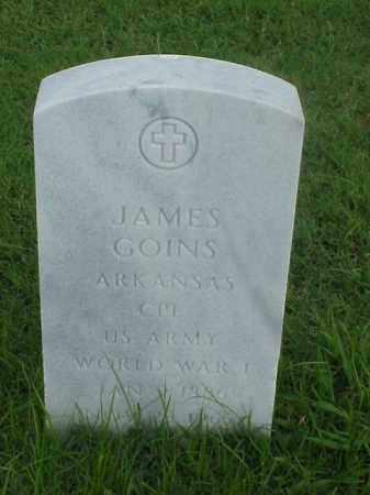 GOINS (VETERAN WWI), JAMES - Pulaski County, Arkansas | JAMES GOINS (VETERAN WWI) - Arkansas Gravestone Photos