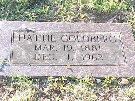 GOLDBERG, HATTIE - Pulaski County, Arkansas | HATTIE GOLDBERG - Arkansas Gravestone Photos