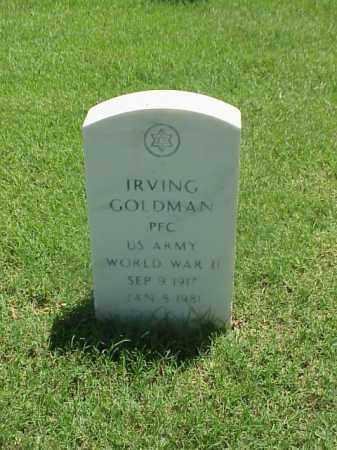 GOLDMAN (VETERAN WWII), IRVING - Pulaski County, Arkansas   IRVING GOLDMAN (VETERAN WWII) - Arkansas Gravestone Photos