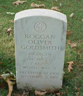 GOLDSMITH (VETERAN WWII), ROGGAN OLIVER - Pulaski County, Arkansas | ROGGAN OLIVER GOLDSMITH (VETERAN WWII) - Arkansas Gravestone Photos