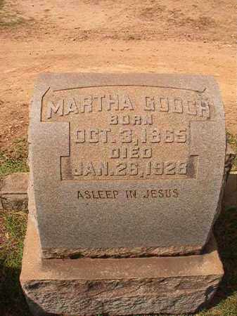 GOOCH, MARTHA - Pulaski County, Arkansas   MARTHA GOOCH - Arkansas Gravestone Photos