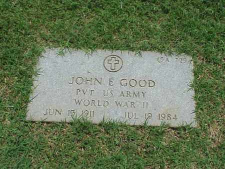 GOOD (VETERAN WWII), JOHN E - Pulaski County, Arkansas | JOHN E GOOD (VETERAN WWII) - Arkansas Gravestone Photos