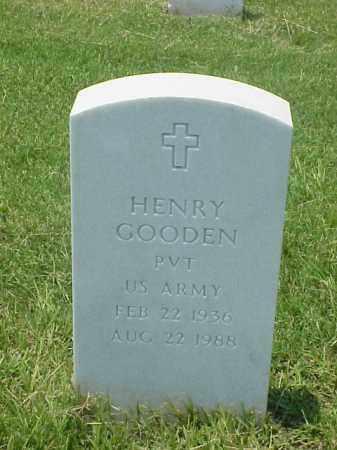 GOODEN (VETERAN), HENRY - Pulaski County, Arkansas | HENRY GOODEN (VETERAN) - Arkansas Gravestone Photos