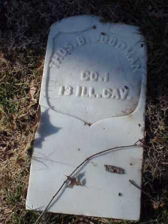 GOODMAN  (VETERAN UNION), THOMAS B - Pulaski County, Arkansas | THOMAS B GOODMAN  (VETERAN UNION) - Arkansas Gravestone Photos