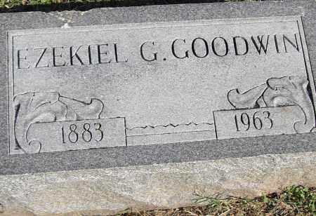 GOODWIN, EZEKIEL G - Pulaski County, Arkansas   EZEKIEL G GOODWIN - Arkansas Gravestone Photos
