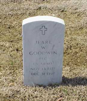 GOODWIN (VETERAN), JEARL W - Pulaski County, Arkansas | JEARL W GOODWIN (VETERAN) - Arkansas Gravestone Photos