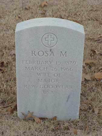 GOODYEAR, ROSA M - Pulaski County, Arkansas | ROSA M GOODYEAR - Arkansas Gravestone Photos