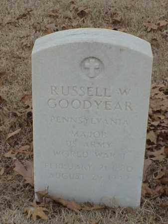 GOODYEAR (VETERAN WWI), RUSSELL W - Pulaski County, Arkansas | RUSSELL W GOODYEAR (VETERAN WWI) - Arkansas Gravestone Photos