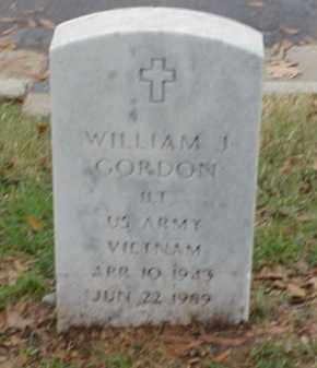 GORDON  (VETERAN VIET), WILLIAM J - Pulaski County, Arkansas | WILLIAM J GORDON  (VETERAN VIET) - Arkansas Gravestone Photos