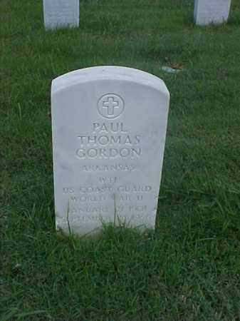 GORDON (VETERAN WWII), PAUL THOMAS - Pulaski County, Arkansas | PAUL THOMAS GORDON (VETERAN WWII) - Arkansas Gravestone Photos