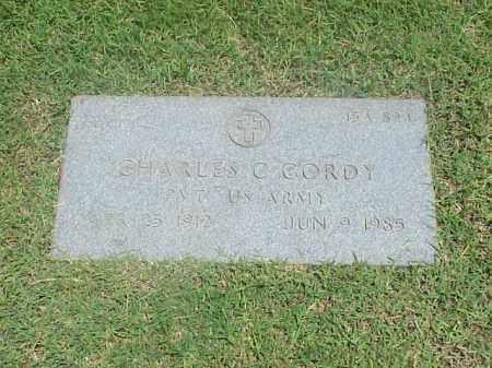 GORDY (VETERAN), CHARLES C - Pulaski County, Arkansas | CHARLES C GORDY (VETERAN) - Arkansas Gravestone Photos