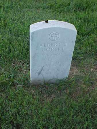GORSKI (VETERAN WWI), ALBERT J - Pulaski County, Arkansas | ALBERT J GORSKI (VETERAN WWI) - Arkansas Gravestone Photos