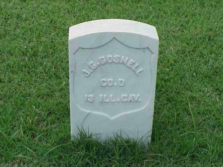 GOSNELL (VETERAN UNION), JOSHUA G - Pulaski County, Arkansas | JOSHUA G GOSNELL (VETERAN UNION) - Arkansas Gravestone Photos