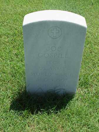 GOSPILL (VETERAN WWII), JOE - Pulaski County, Arkansas | JOE GOSPILL (VETERAN WWII) - Arkansas Gravestone Photos