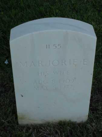GOSS, MARJORIE E - Pulaski County, Arkansas   MARJORIE E GOSS - Arkansas Gravestone Photos