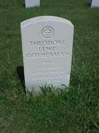 GOTHERMAN (VETERAN WWII), THEODORE LEWIS - Pulaski County, Arkansas | THEODORE LEWIS GOTHERMAN (VETERAN WWII) - Arkansas Gravestone Photos