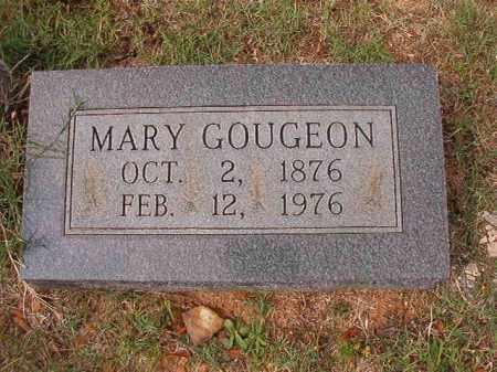 GOUGEON, MARY - Pulaski County, Arkansas   MARY GOUGEON - Arkansas Gravestone Photos