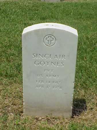 GOYNES (VETERAN WWII), SINCLAIR - Pulaski County, Arkansas | SINCLAIR GOYNES (VETERAN WWII) - Arkansas Gravestone Photos