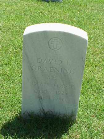 GRAENING (VETERAN), DAVID L - Pulaski County, Arkansas | DAVID L GRAENING (VETERAN) - Arkansas Gravestone Photos