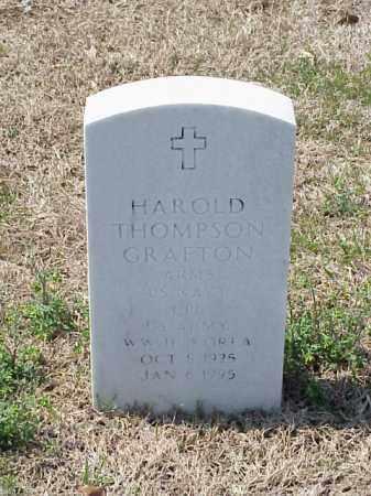 GRAFTON (VETERAN 2 WARS), HAROLD THOMPSON - Pulaski County, Arkansas | HAROLD THOMPSON GRAFTON (VETERAN 2 WARS) - Arkansas Gravestone Photos
