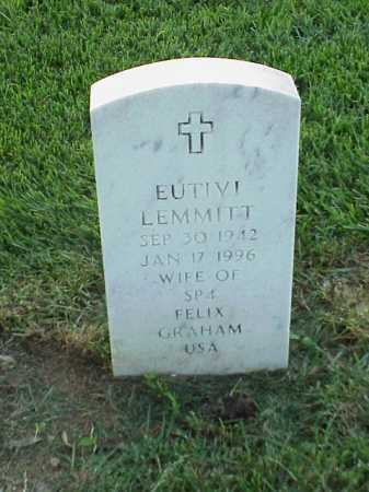 LEMMITT GRAHAM, EUTIVI - Pulaski County, Arkansas | EUTIVI LEMMITT GRAHAM - Arkansas Gravestone Photos