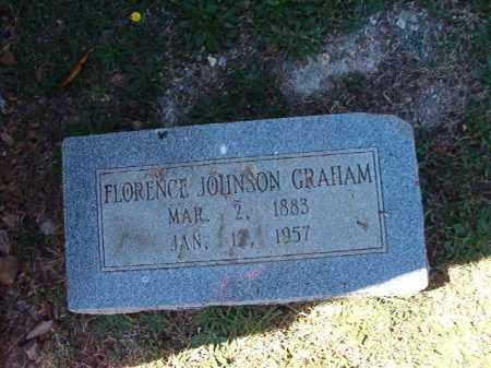 JOHNSON GRAHAM, FLORENCE - Pulaski County, Arkansas   FLORENCE JOHNSON GRAHAM - Arkansas Gravestone Photos
