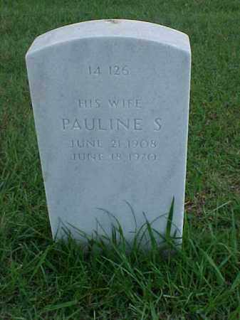 GRAHAM, PAULINE S - Pulaski County, Arkansas | PAULINE S GRAHAM - Arkansas Gravestone Photos