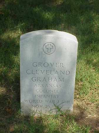 GRAHAM (VETERAN 2 WARS), GROVER CLEVELAND - Pulaski County, Arkansas   GROVER CLEVELAND GRAHAM (VETERAN 2 WARS) - Arkansas Gravestone Photos