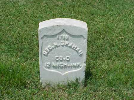GRAHAM (VETERAN UNION), GEORGE H - Pulaski County, Arkansas | GEORGE H GRAHAM (VETERAN UNION) - Arkansas Gravestone Photos