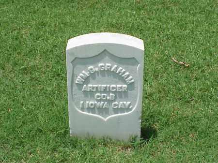 GRAHAM (VETERAN UNION), WILLIAM G - Pulaski County, Arkansas | WILLIAM G GRAHAM (VETERAN UNION) - Arkansas Gravestone Photos
