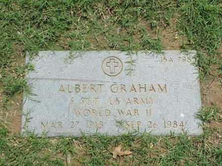 GRAHAM (VETERAN WWII), ALBERT - Pulaski County, Arkansas | ALBERT GRAHAM (VETERAN WWII) - Arkansas Gravestone Photos