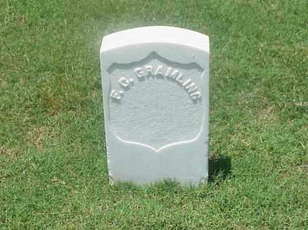 GRAMLING (VETERAN UNION), F C - Pulaski County, Arkansas   F C GRAMLING (VETERAN UNION) - Arkansas Gravestone Photos