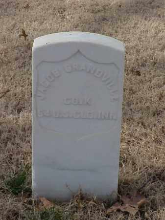 GRANDVILLE  (VETERAN UNION), JACOB - Pulaski County, Arkansas | JACOB GRANDVILLE  (VETERAN UNION) - Arkansas Gravestone Photos