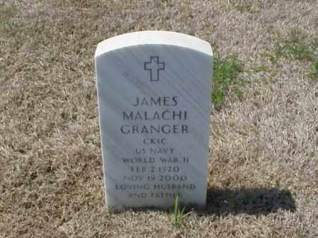 GRANGER (VETERAN WWII), JAMES MALACHI - Pulaski County, Arkansas | JAMES MALACHI GRANGER (VETERAN WWII) - Arkansas Gravestone Photos