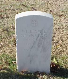 GRANSTAFF  (VETERAN WWI), WILLIAM E - Pulaski County, Arkansas | WILLIAM E GRANSTAFF  (VETERAN WWI) - Arkansas Gravestone Photos