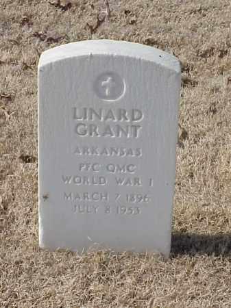 GRANT  (VETERAN WWI), LINARD - Pulaski County, Arkansas | LINARD GRANT  (VETERAN WWI) - Arkansas Gravestone Photos