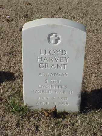GRANT  (VETERAN WWII), LLOYD HARVEY - Pulaski County, Arkansas | LLOYD HARVEY GRANT  (VETERAN WWII) - Arkansas Gravestone Photos