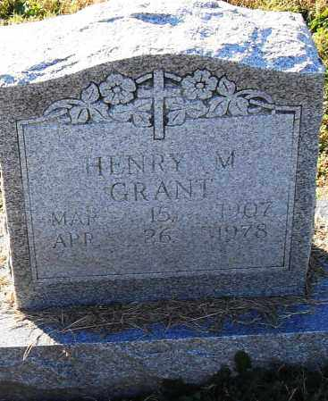 GRANT, HENRY M - Pulaski County, Arkansas | HENRY M GRANT - Arkansas Gravestone Photos