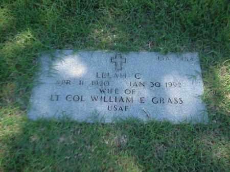 GRASS, LELAH C - Pulaski County, Arkansas | LELAH C GRASS - Arkansas Gravestone Photos