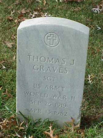 GRAVES  (VETERAN WWII), THOMAS J - Pulaski County, Arkansas | THOMAS J GRAVES  (VETERAN WWII) - Arkansas Gravestone Photos