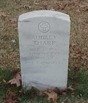 THARP GRAVES, AUBREY - Pulaski County, Arkansas   AUBREY THARP GRAVES - Arkansas Gravestone Photos