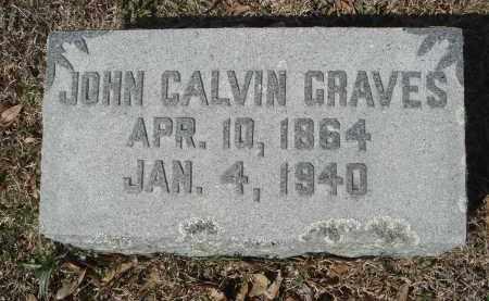 GRAVES, JOHN CALVIN - Pulaski County, Arkansas   JOHN CALVIN GRAVES - Arkansas Gravestone Photos
