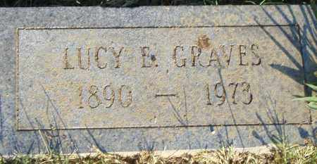 GRAVES, LUCY  E. - Pulaski County, Arkansas | LUCY  E. GRAVES - Arkansas Gravestone Photos