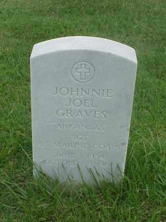 GRAVES (VETERAN), JOHNNIE JOEL - Pulaski County, Arkansas   JOHNNIE JOEL GRAVES (VETERAN) - Arkansas Gravestone Photos