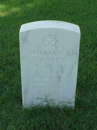GRAVES (VETERAN WWI), WILLIAM M - Pulaski County, Arkansas | WILLIAM M GRAVES (VETERAN WWI) - Arkansas Gravestone Photos