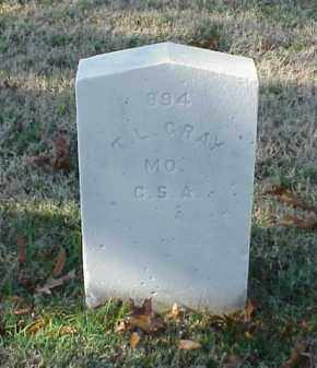 GRAY  (VETERAN CSA), T L - Pulaski County, Arkansas | T L GRAY  (VETERAN CSA) - Arkansas Gravestone Photos