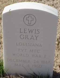 GRAY  (VETERAN WWI), LEWIS - Pulaski County, Arkansas | LEWIS GRAY  (VETERAN WWI) - Arkansas Gravestone Photos